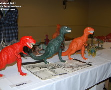 Wonderfest 2011: Prehistoric Scenes display